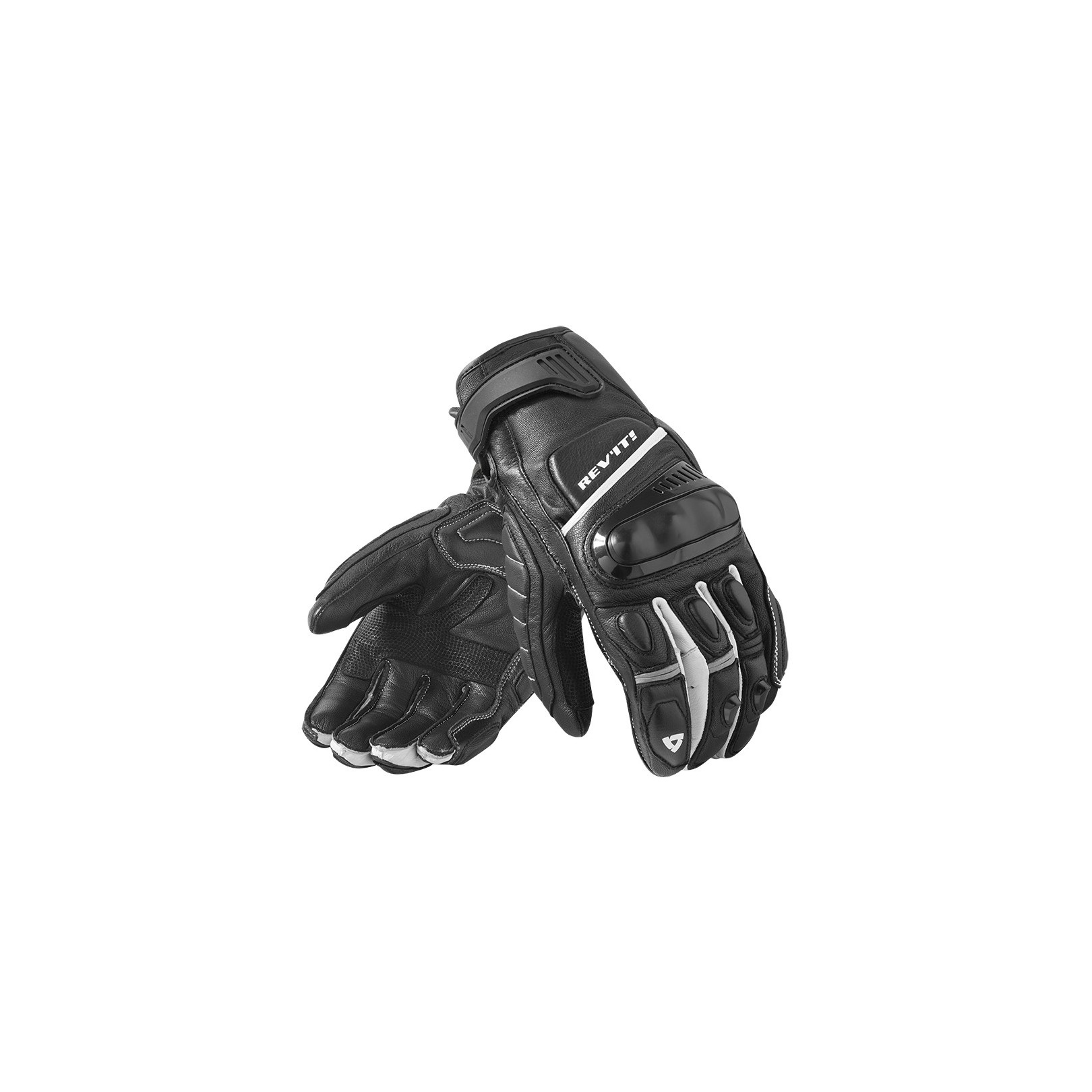 Gants REV'IT Chicane Noir Blanc