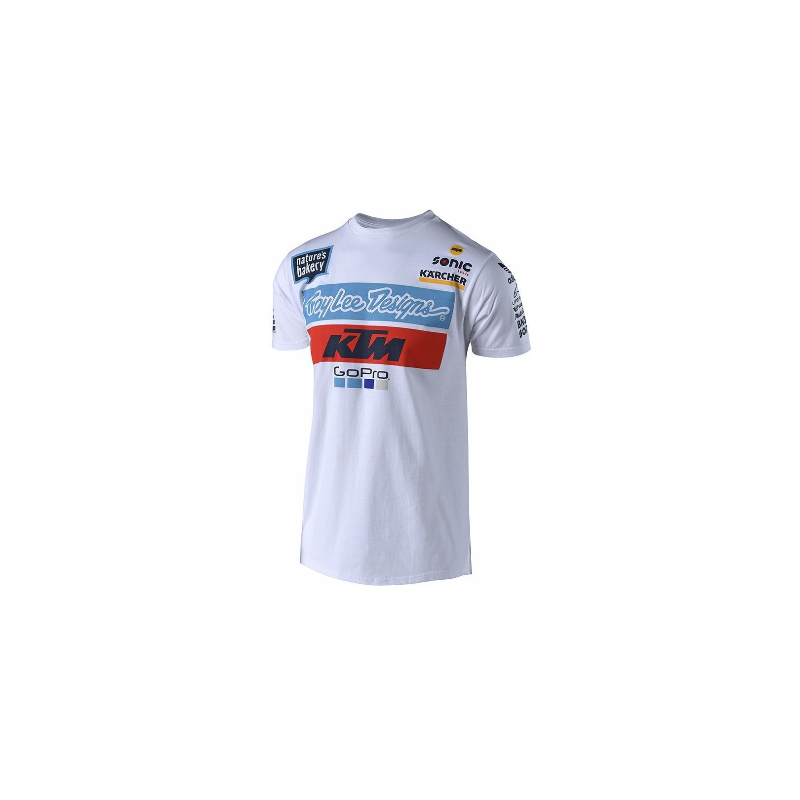 T-Shirt KTM Troy Lee Design Blanc 18