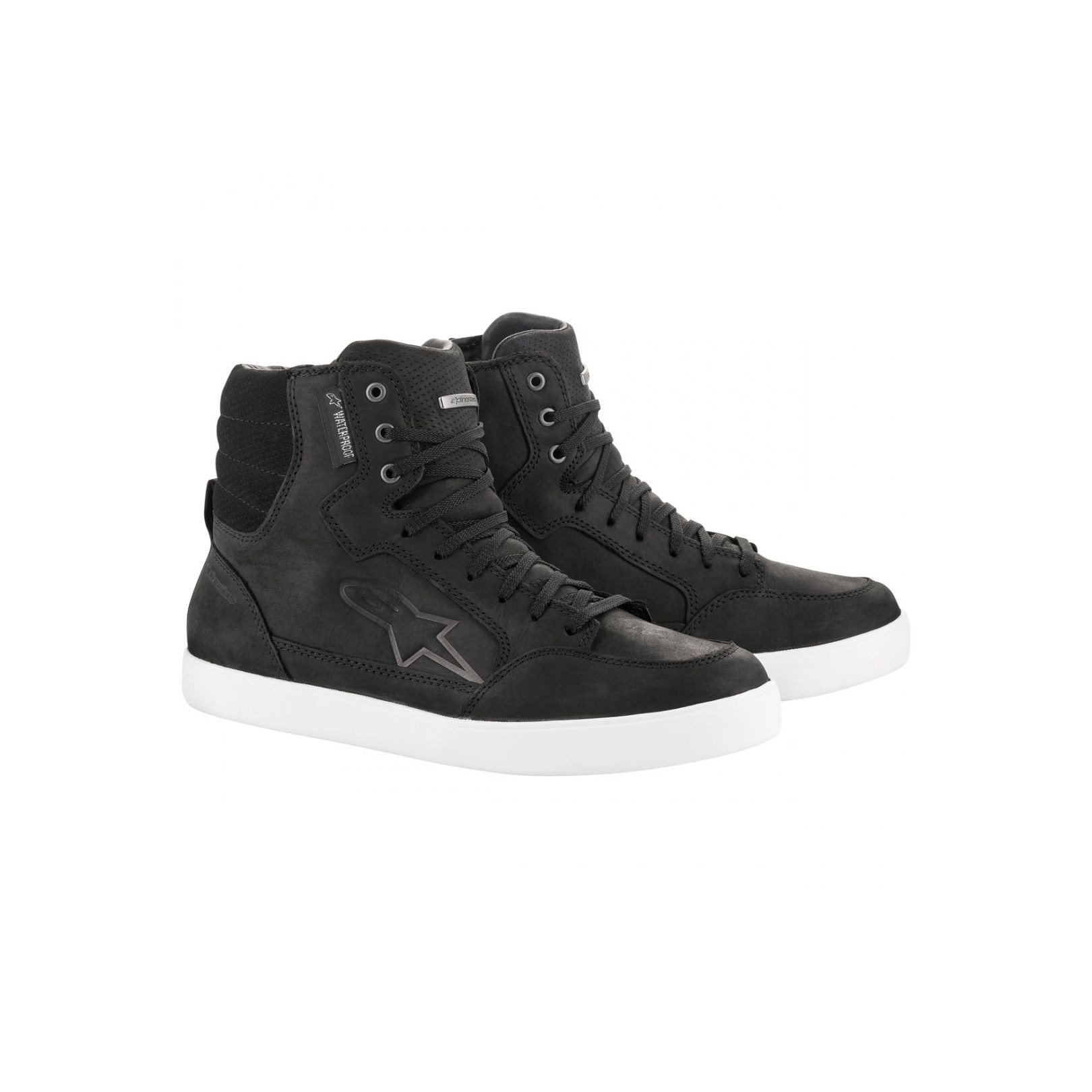 Baskets Alpinestars J-6 Waterproof Noir et Blanc
