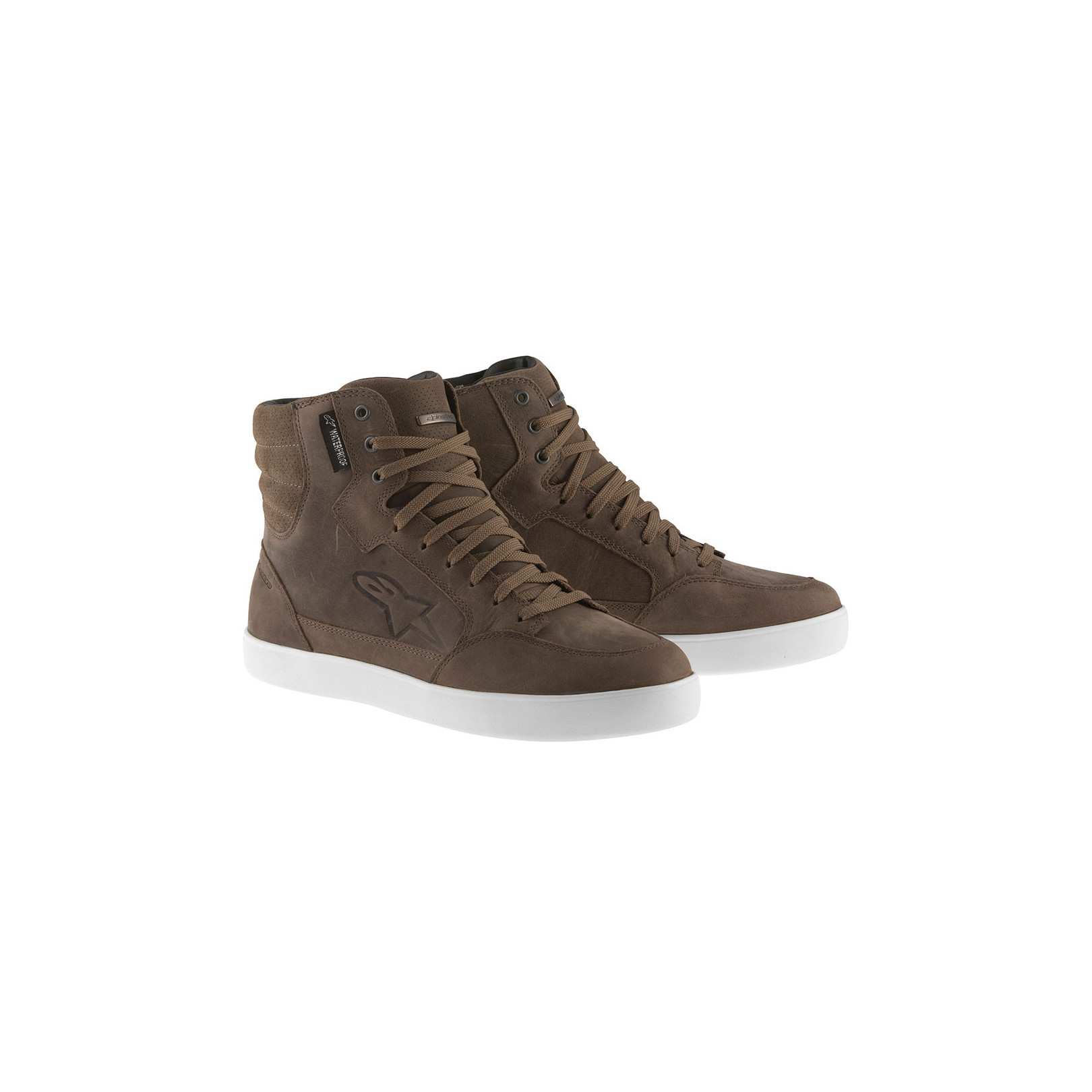 Baskets Alpinestars J-6 Waterproof Marron