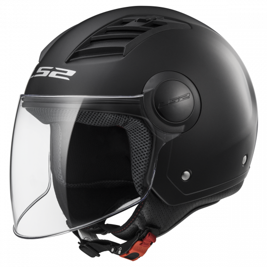 Casque LS2 OF562 Airflow Solid Noir mat