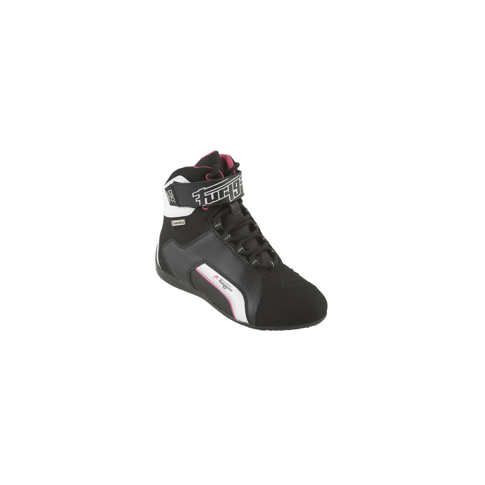 Baskets Furygan Lady Jet Sympatex D3O Noir-Rose